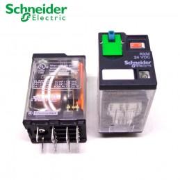 Relejs 4C/O 6A 12VDC LED