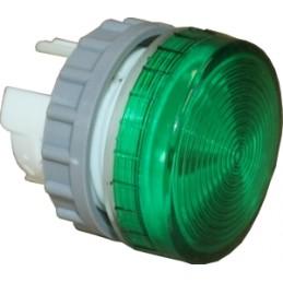 LED korpuss zaļš