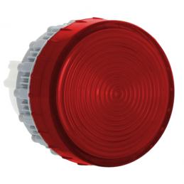 LED korpuss sarkans