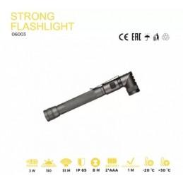 Lukturis LED 3W IP65 2AAA