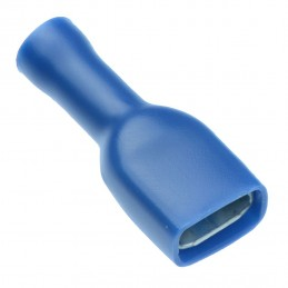 Vadu savienojums 6.3mm zils