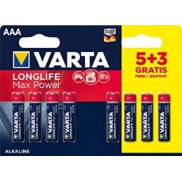 Baterija AAA VARTA 5+3