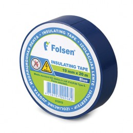 Izolācijas lente 19mmx20m zila