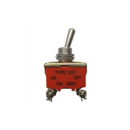 Tumblers 2p ON/OFF AC250V 15A
