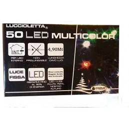 50 LED Virtene Zila.Telpās