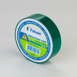 Izolācijas lente 19mmx33m zaļa