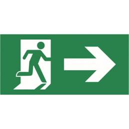 """Uzlīme """"Evakuācijas izeja""""..."""