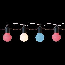 LED āra virtene krāsaina...