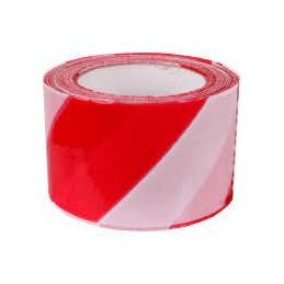 Norobežojošā lente sarkana...