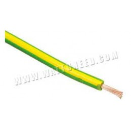 Vads H07V-K-1,5mm2  dz/zaļš
