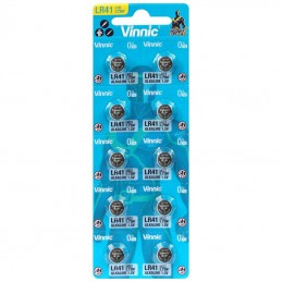 Baterijas LR41 AG3 VINNIC