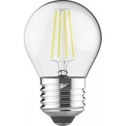 Spuldze LED 4W E27 caurspīdīga