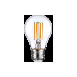 Spuldze LED 8W E27 caurspīdīga