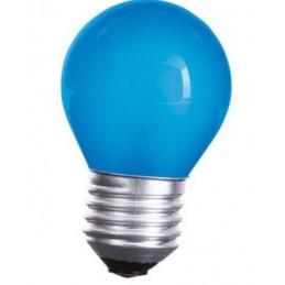 Spuldze LED E27 1W Zila