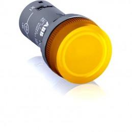 LED lampiņa dzeltena 230V