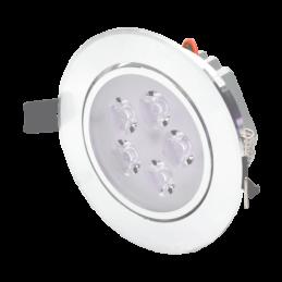 LED 5W Gaismeklis Z/A sudrabs