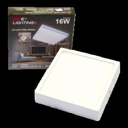 LED Panelis 16W V/A kvadrāts