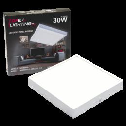 LED panelis 30W v/a kvadrāts