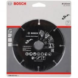 Cietmetāla disks 125x1x22,23mm