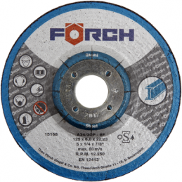 Slīpēšanas disks FORCH 150/6.0